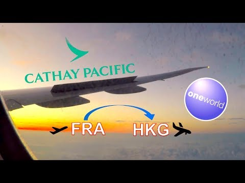 ✈︎ FULL FLIGHT ✈︎ Cathay Pacific Airways ✈︎ CRAZY LONG HAUL