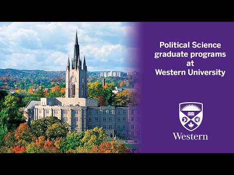 Overview Of Political Science Graduate Programs At Western University