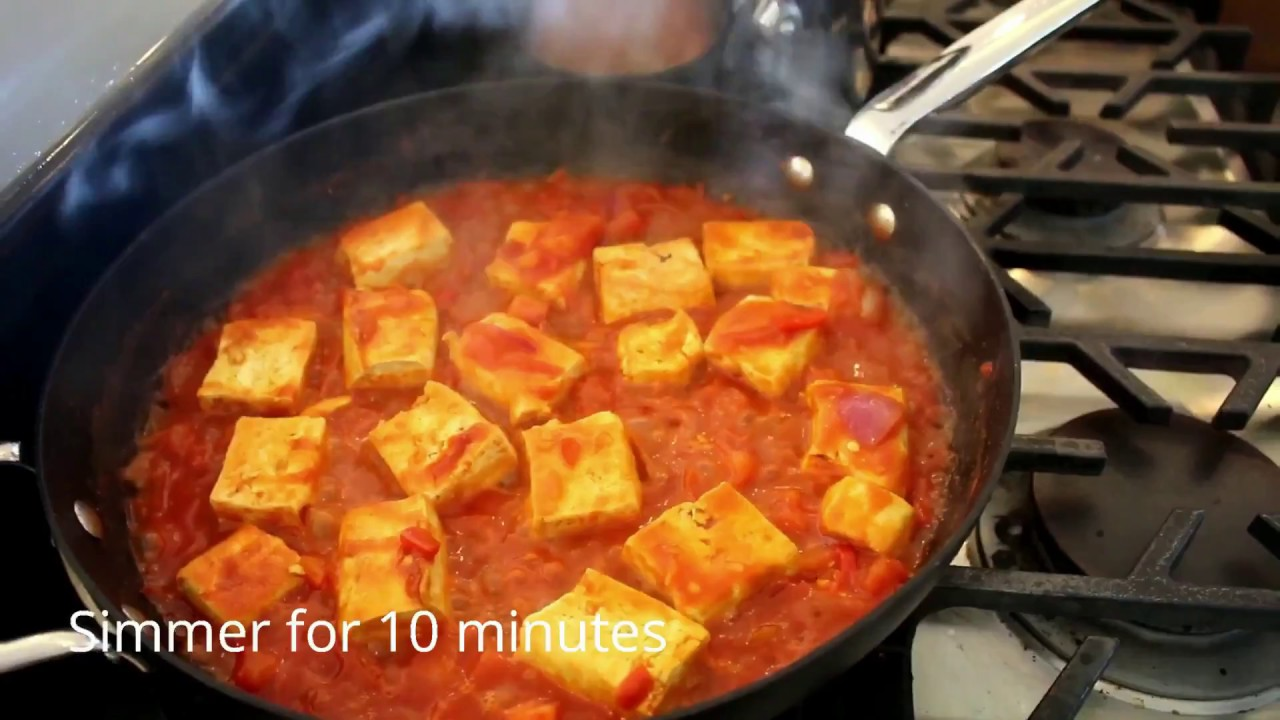 Clean Food For Clean People: Tofu Rojo (Progression)