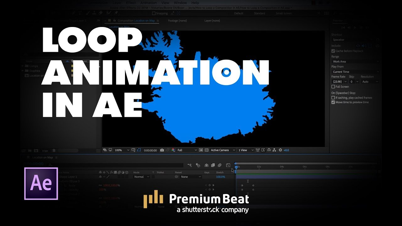 Video Tutorial: How to Loop an Animation in Adobe After Effects