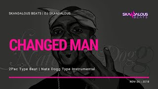 2Pac, Nate Dogg, Big Syke - Changed Man (Instrumental | DJ Skandalous Beats)
