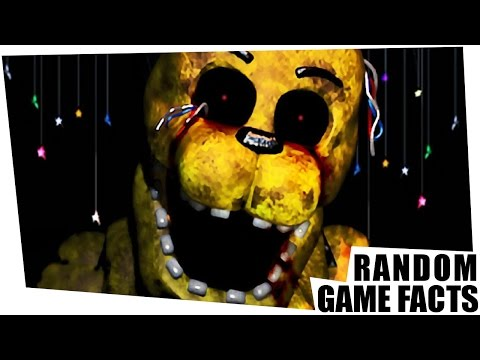 Random Game Facts #40 - Geheime Aufnahmen in Five Nights at Freddy's & Piratenabwehr