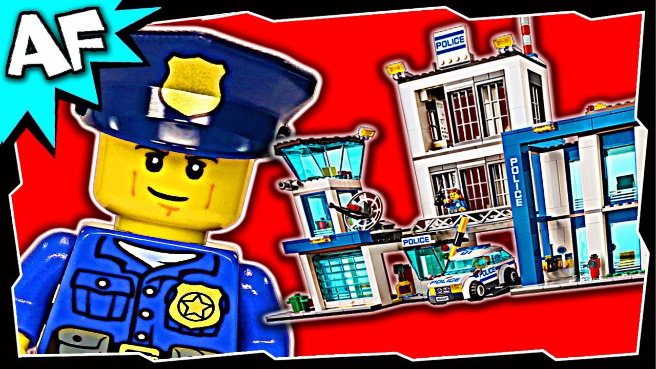 Lego City Police Station 60047 Stop Motion Build Review Youtube