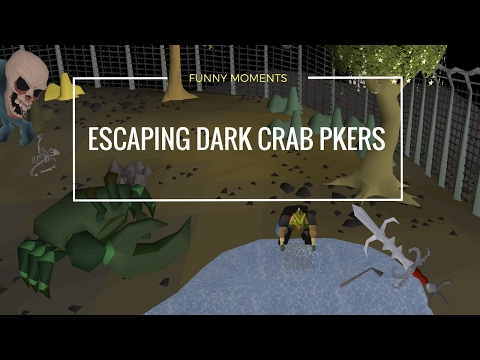 Escaping From Dark Crab PKers [FUNNY MOMENTS]