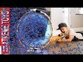 Coles One Billion Nerf Dart Mess! Crazy Cloning Hula Hoop!