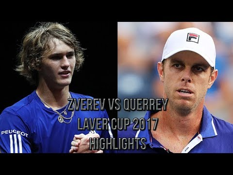 Alexander Zverev Vs Sam Querrey - Laver Cup 2017 (Highlights HD)