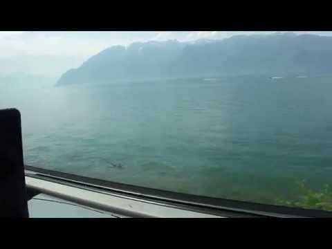 Florencio Tovar Viaje En Tren De Milan A Suiza