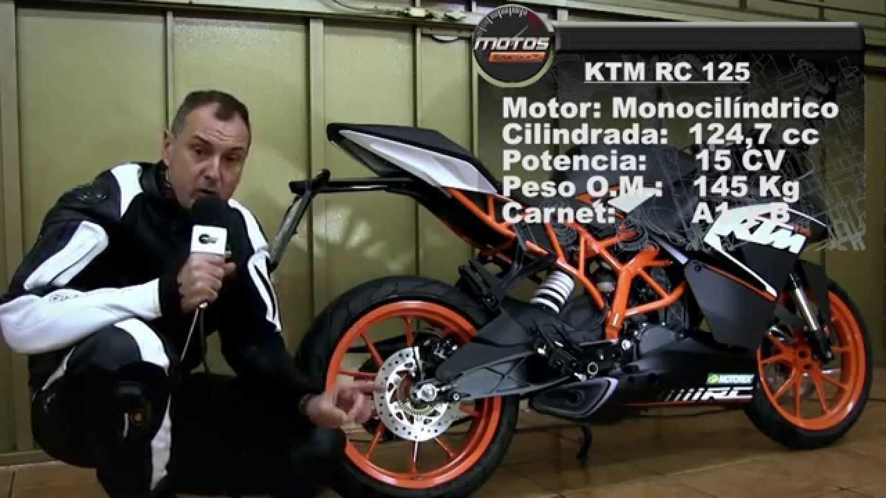 Motos garage tv test ktm rc 125 youtube for Ouvrir garage moto