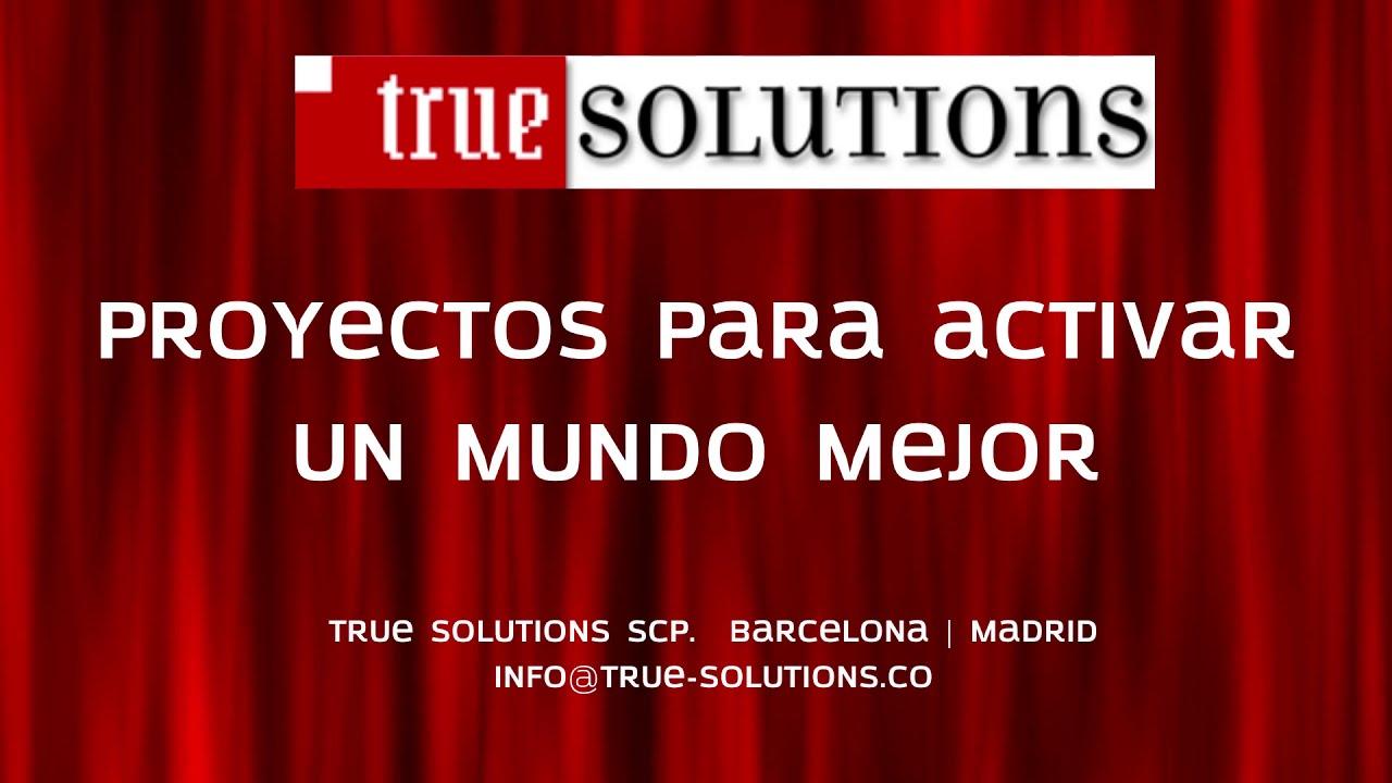 True Solutions Lanzamiento 2020