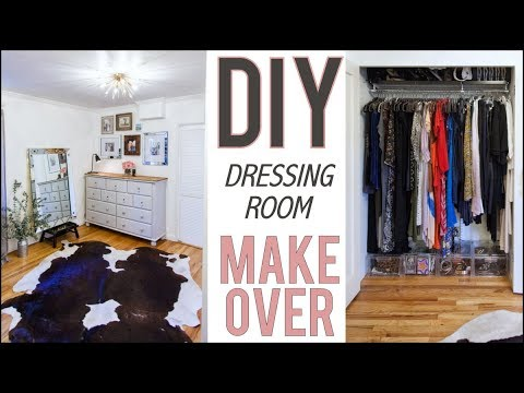 DIY: Dressing Room Makeover! (BEFORE + AFTER)