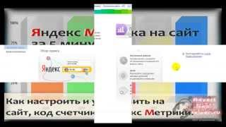 Как настроить и установить на сайт код счетчика Яндекс Метрика, за 5 минут