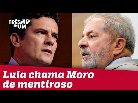 Lula chama Sergio Moro de 'mentiroso' e General Heleno rebate petista