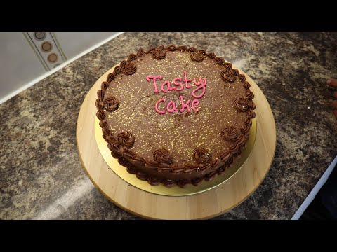 How to make tasty chocolate cake in Tamil. எப்படி சுவையான சொக்லேட் கேக் செய்வது.