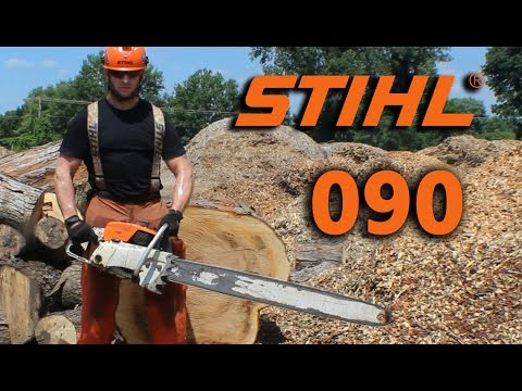 Stihl 090 Overview and my first cuts with it.