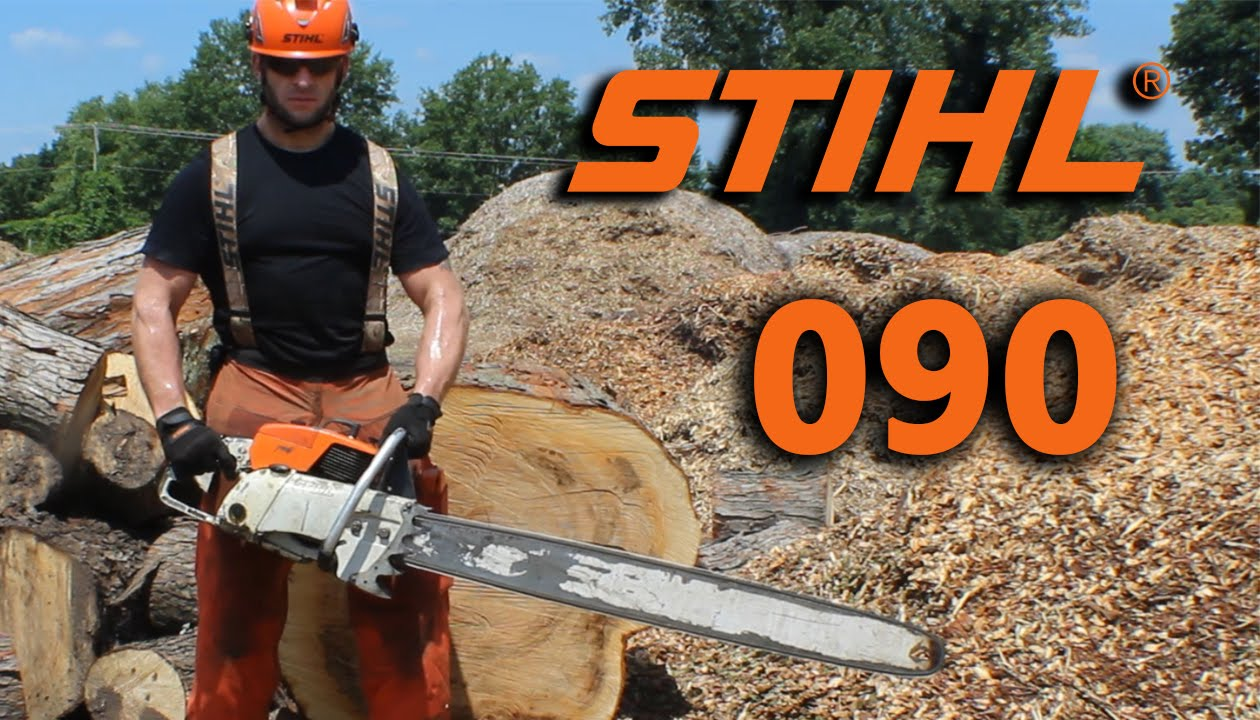 Stihl 090 Overview and my first cuts with it