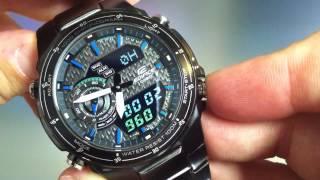 [1.26 MB] Casio Edifice EFA-131 Black Lable Watch EFA131BK-1AV