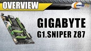 GIGABYTE G1.Sniper Z87 LGA 1150 Intel Z87 HDMI ATX Intel Motherboard Overview - Newegg TV