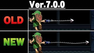 Smash Ultimate Patch 7.0.0 - Side by Side Comparison