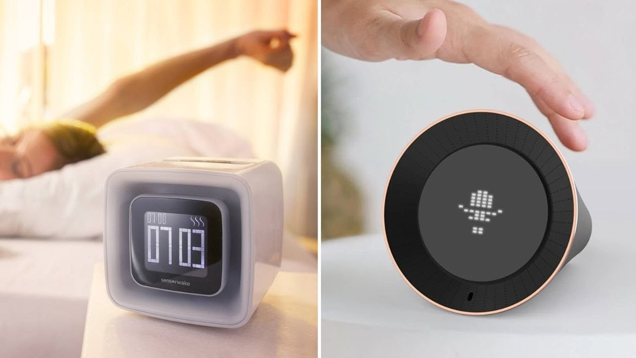 5 Unique Smart Alarm Clocks For The Sleepyheads Youtube