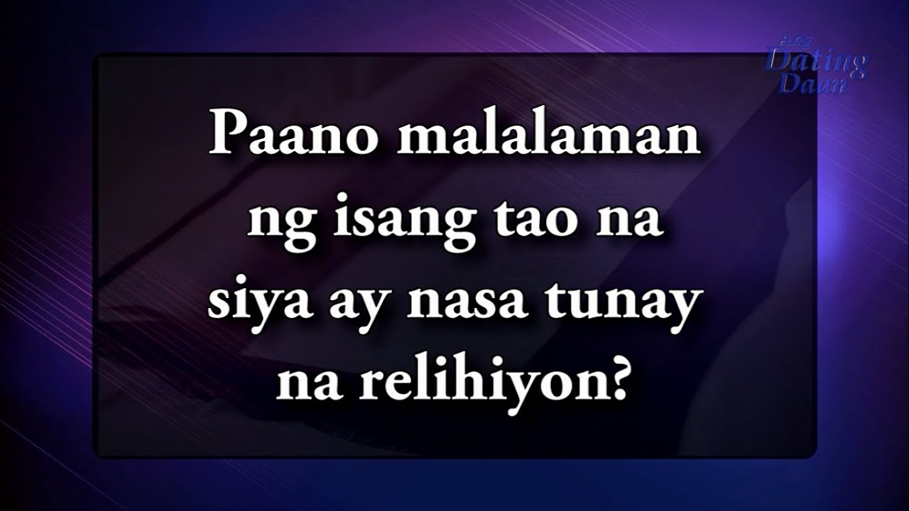 Ang dating daan 2015 debate video 1