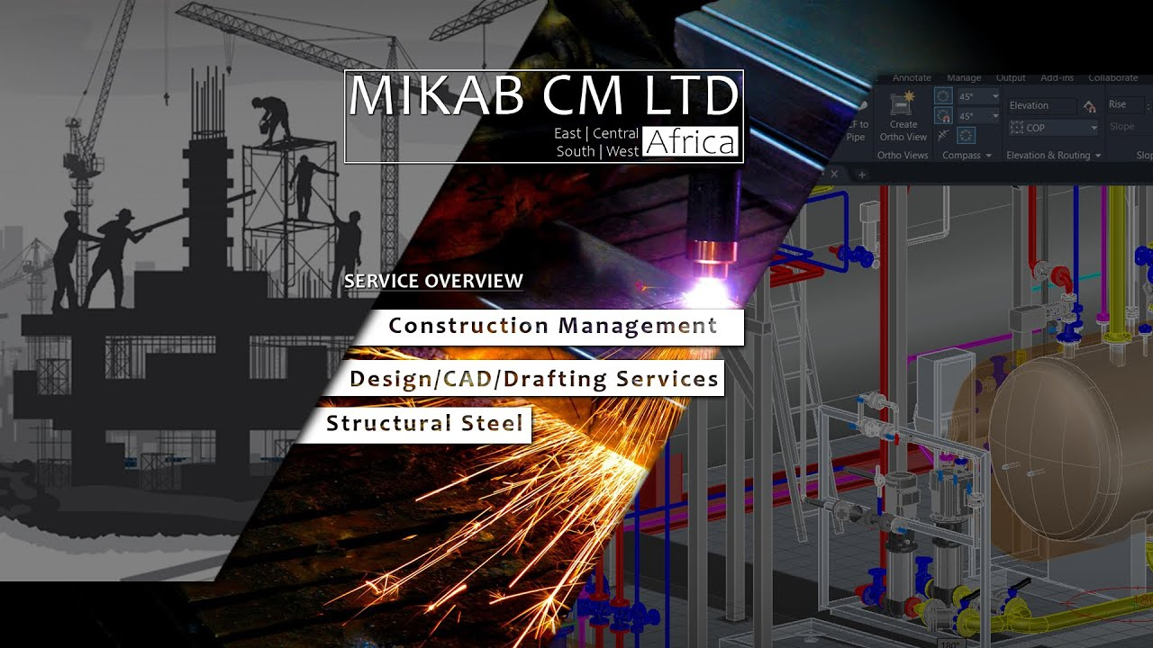 Mikab's Service overview (Video): Construction Management | CAD Services | Structural Steel