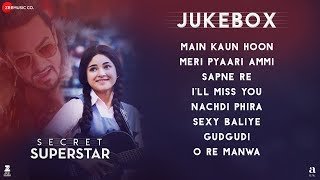 Gambar cover Secret Superstar - Full Movie Audio Jukebox | Aamir Khan | Zaira Wasim | Amit Trivedi | Kausar Munir