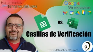 Google Sheets vs Excel | Casillas de Verificación