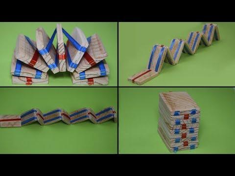 Amazing Stair Illusion. Handmade Magical Toy👍 Невероятная детская игрушка за 5 минут!