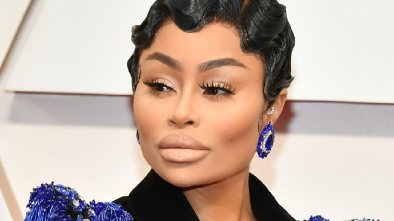 Why was Blac Chyna at the Oscars?