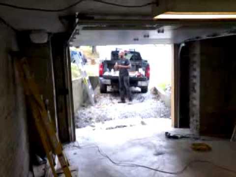 Liftmaster 3800 Garage Door Opener On A Low Headroom Steel