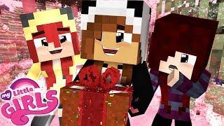 PRESENTE FOFO E DOCE PARA AS MENINAS | Minecraft: MY LITTLE GIRLS #7