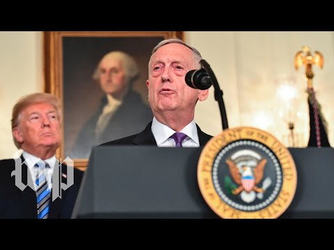 Mattis: 'We Received The Largest Military Budget In History'