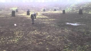 Тренировка IPSC после дождя ))