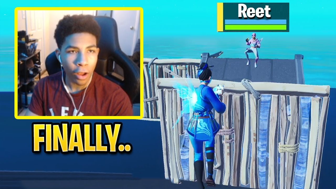 Unknown 1v1 REET For The First Time in Fortnite History!