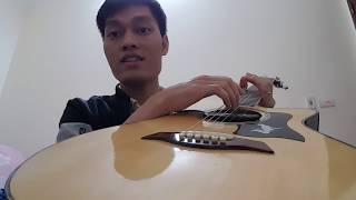 Guitar Cao Cấp. Guitar isaac - CA1. Giá 4tr. (Dây Elixir)