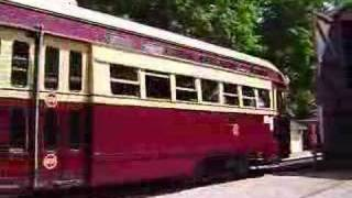 TTC Streetcar #4600 (PCC) at Halton County Radial Railway