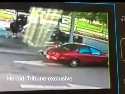 RAW: Road rage shooting at Sarasota gas station