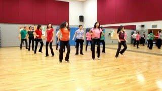Girl Next Door (Gaye Teather) - Line Dance (Dance & Teach in English & 中文)