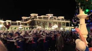 Gator Band - Parade - Magic Kingdom, Lake Buena Vista, FL - 12/29/15