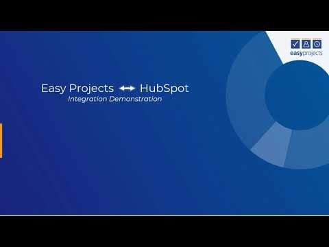 Easy Projects to HubSpot Integration