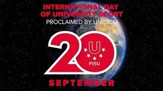 International Day of University Sport, 20 September - FISU 2016 thumbnail