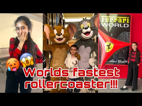 Ferrari World & Warner Bros. | Dubai Vlog