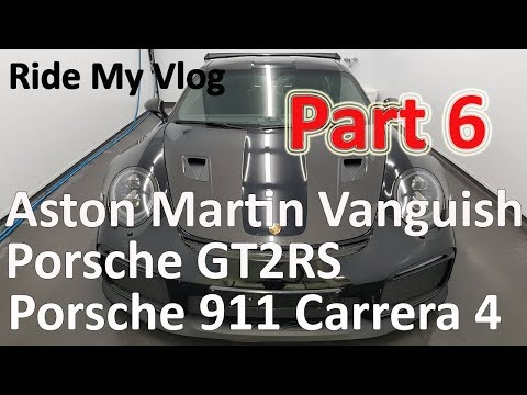 High End Car Detailing Ride My Vlog 6 with Porsche GT2 RS