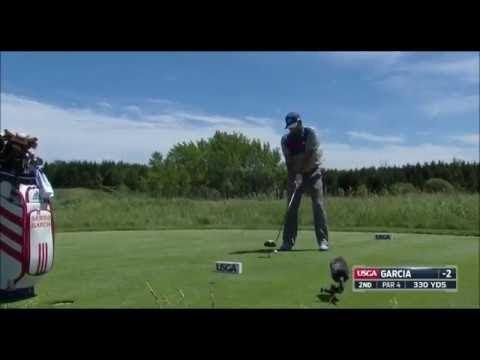 Sergio Garcia's Best Golf Shots 2017 US Open USGA Erin Hills