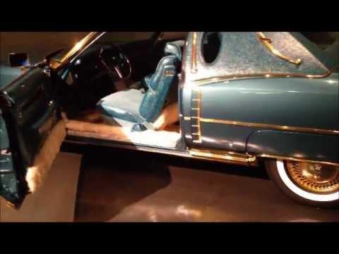 Isaac Hayes' Gold Cadillac at Stax Records Museum, Memphis ...