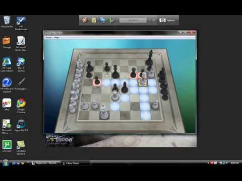 Ominous450's Chess Match against the Computer