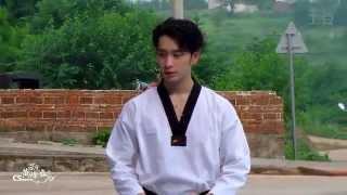 140630 Filming in Hunan - Teaching Taekwondo