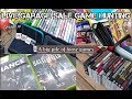 Live Garage Sale Game Hunting: Pile of loose games - Ep19