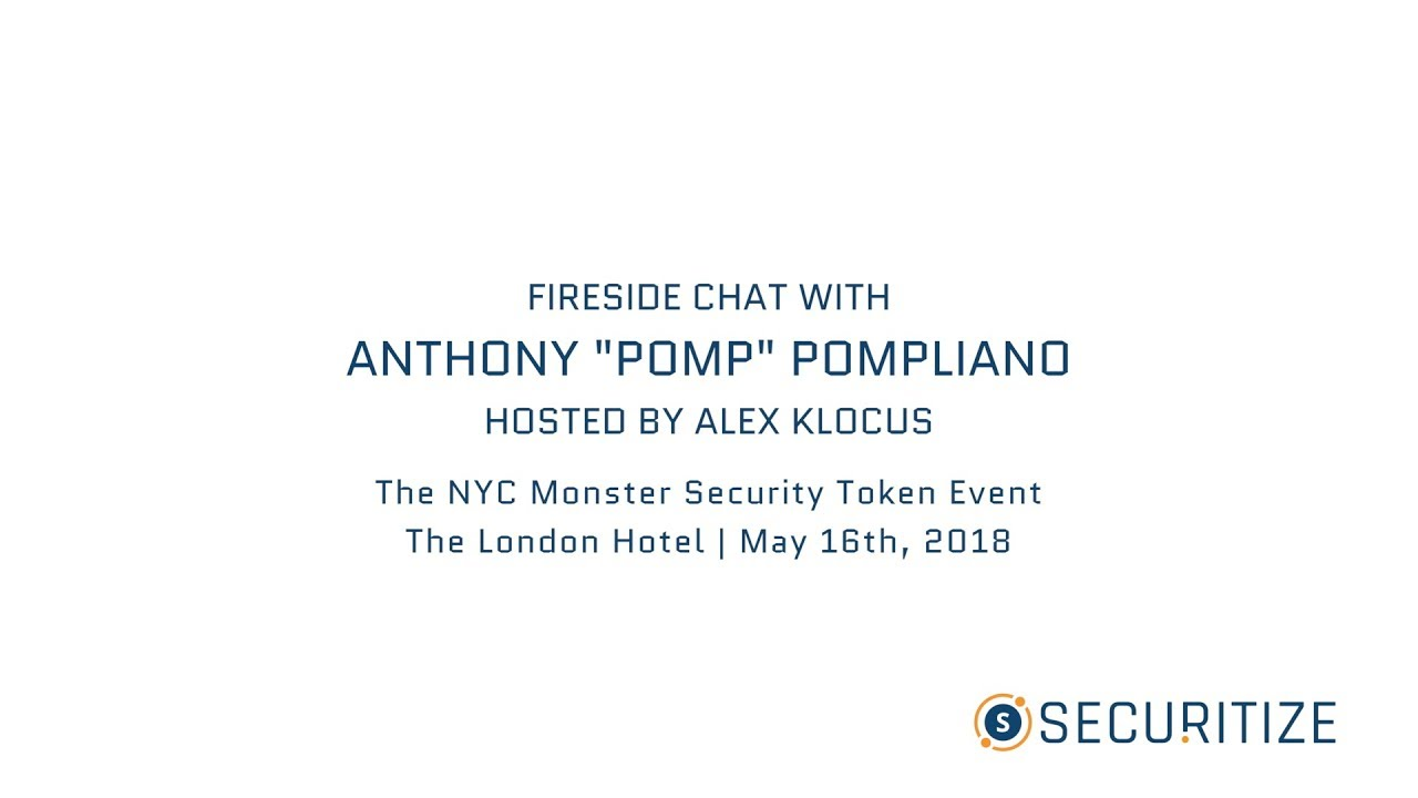 "Cover Image for Full Video: Fire Side Chat with Anthony ""Pomp"" Pompliano Founder & Partner at Morgan Creek Digital Assets"