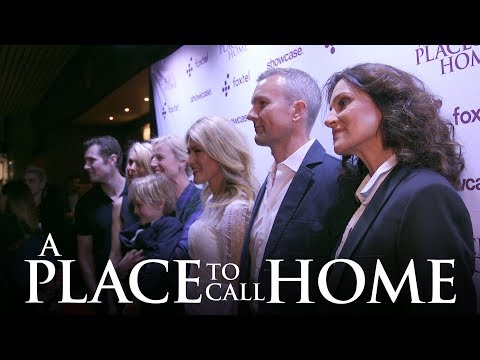 On The Red Carpet  World Premiere  A Place To Call Home Season 5